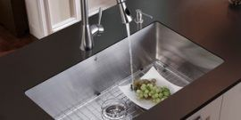 Kitchen Stainless Steel Sinks - 18 Gauge